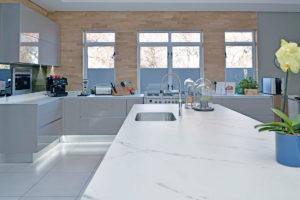 white quartz worktops