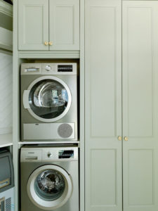 stacked appliances
